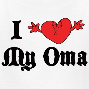 German I Love My Oma  T-Shirt - Kids' T-Shirt