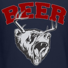Beer Deer and Bear Long Sleeve Shirts