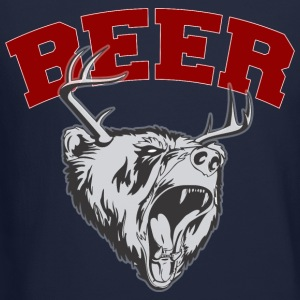 Beer Deer and Bear Long Sleeve Shirts - Crewneck Sweatshirt