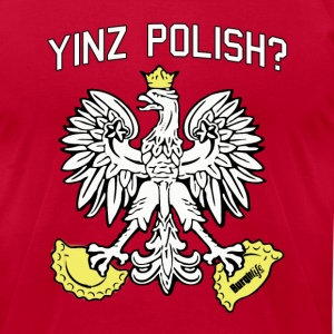 Yinz Polish Tee - Men's T-Shirt by American Apparel