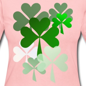 The Faded Shamrocks - Women's Long Sleeve Jersey T-Shirt