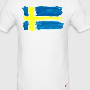Swedish Flag T-Shirts - Men's T-Shirt
