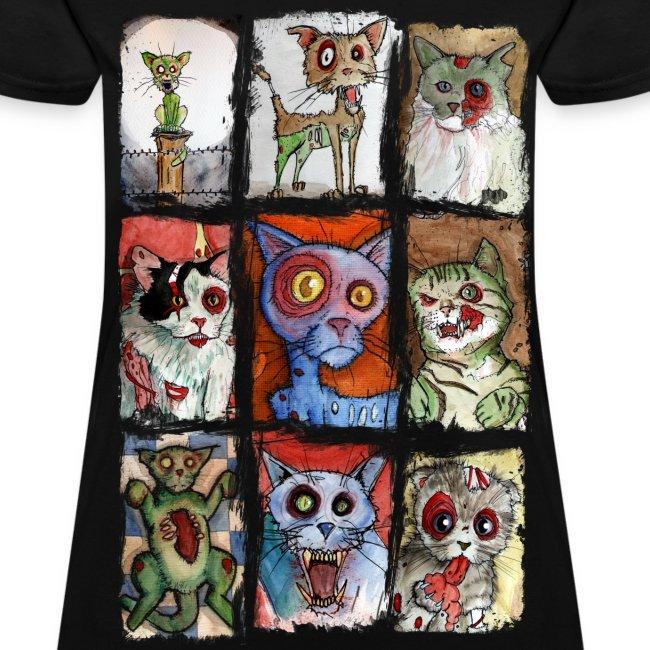 womens 9 zombie cats