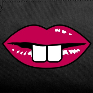 Buck teeth and red lips Bags  - Duffel Bag