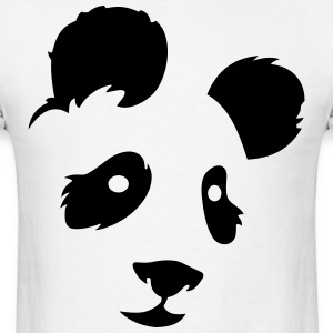 panda face - Men's T-Shirt
