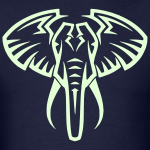 Elephant 13 (Glow in the Dark) - Men's T-Shirt
