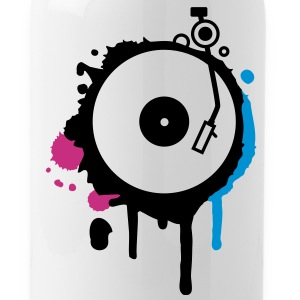 Turntable Graffiti Bottles & Mugs - Water Bottle