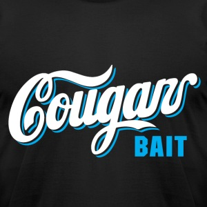 cougar bait - Men's T-Shirt by American Apparel