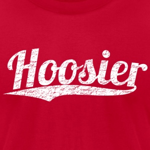Proud to be a Hoosier - Men's T-Shirt by American Apparel