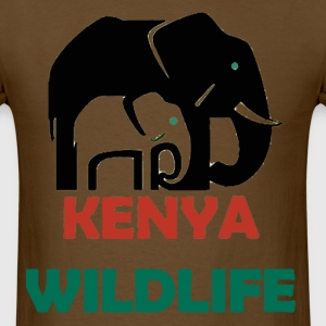 kenya_wildlife T-Shirts - Men's T-Shirt