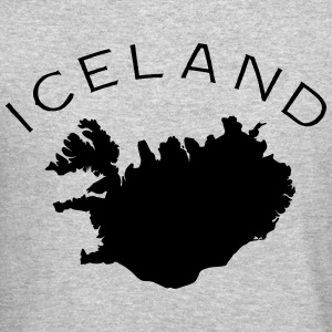 Iceland Flag Land Long Sleeve Shirts - Crewneck Sweatshirt