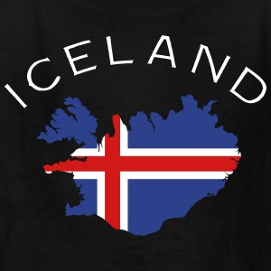 Iceland Flag Land Kids' Shirts - Kids' T-Shirt