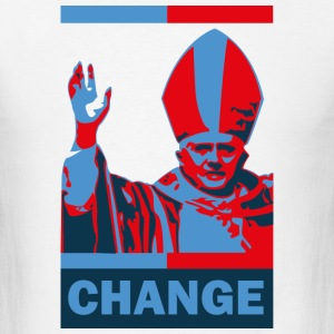 Pope Change T-Shirt - Men's T-Shirt