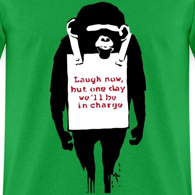 Banksy Chimp