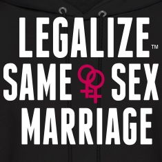 LEGALIZE SAME SEX MARRIAGE Hoodies