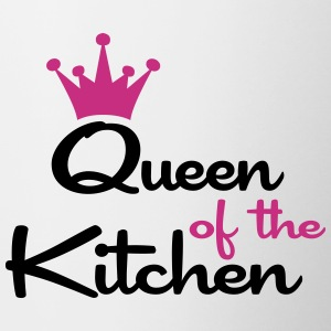 queen of the kitchen coffee mug - Coffee/Tea Mug