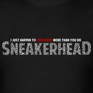 Sneakerhead design 1 T-Shirts - Men's T-Shirt