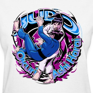Judo Throw Okuri Ashi Harai - Women's T-Shirt
