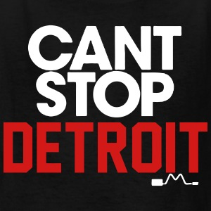Can't Stop Detroit Kids' Shirts - Kids' T-Shirt