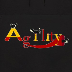 Agility three dogs Hoodies - Men's Hoodie