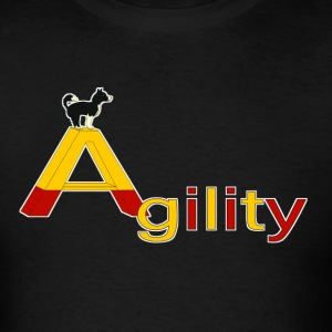 Agility big A T-Shirts - Men's T-Shirt