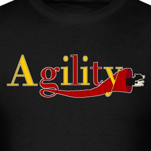 agility tunnels T-Shirts - Men's T-Shirt