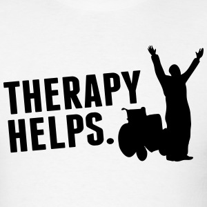 Therapy helps T-Shirts - Men's T-Shirt