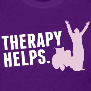 Therapy helps Women's T-Shirts - Women's T-Shirt