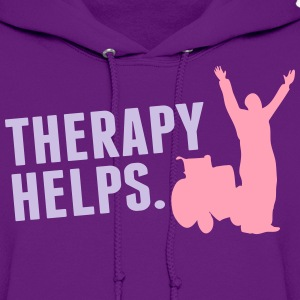 Therapy helps Hoodies - Women's Hoodie