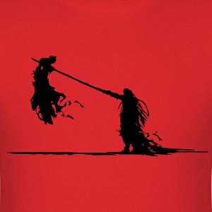 Cloud Vs. Sephiroth T-Shirts - Men's T-Shirt