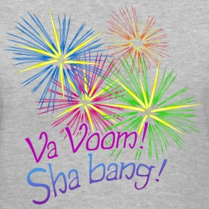 Va Voom! Sha bang! Kim Richards mp Women's T-Shirt - Women's V-Neck T-Shirt