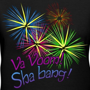 Va Voom! Sha bang! Kim Richards - Women's V-Neck T-Shirt
