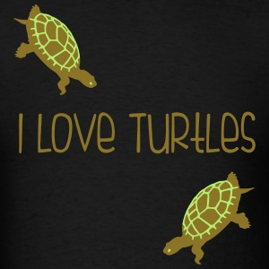 I Love Turtles! Kim Richards mp T-Shirts - Men's T-Shirt