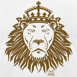 The King Lion T-Shirts - Men's T-Shirt by American Apparel