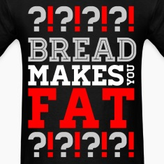 Bread Makes You Fat? Scott Pilgrim T-Shirts T-Shirts