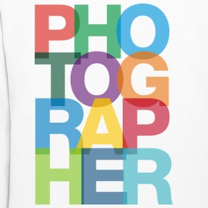 Colorful Photographer Ladies Hoodie - Women's Hoodie