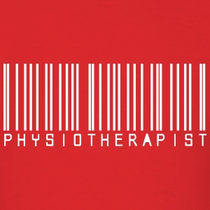 Barcode Physiotherapy T-Shirts - Men's T-Shirt