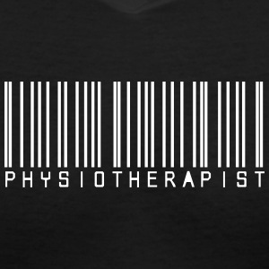 Barcode Physiotherapy Women's T-Shirts - Women's V-Neck T-Shirt
