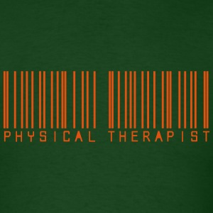 Barcode physical therapist T-Shirts - Men's T-Shirt