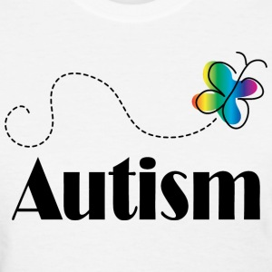Autism Awareness Butterfly Women's T-Shirts - Women's T-Shirt