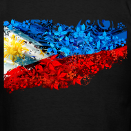 Design ~ Men's Definitely Filipino Flag Shirt