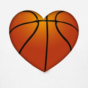 Basketball heart - Women's T-Shirt