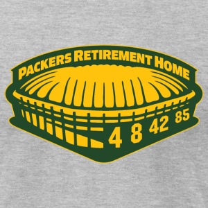 PACKERS RETIREMENT HOME T-Shirts - Men's T-Shirt by American Apparel
