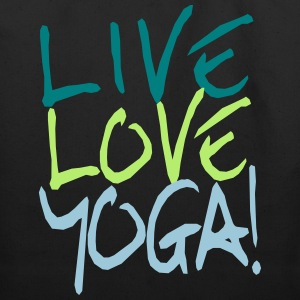 Live Love Yoga! | Custom Yoga Shirts Bags  - Eco-Friendly Cotton Tote