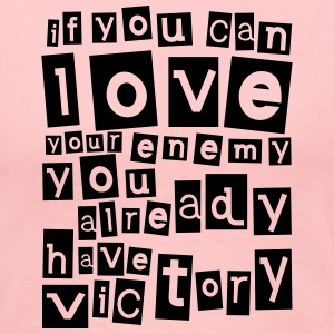 If you can love your enemy Victory Long Sleeve Shirts - Women's Long Sleeve Jersey T-Shirt