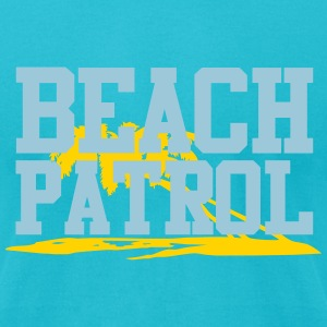 beach patrol T-Shirts - Men's T-Shirt by American Apparel
