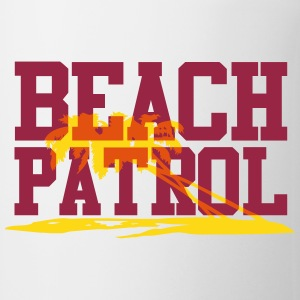 beach patrol Bottles & Mugs - Coffee/Tea Mug