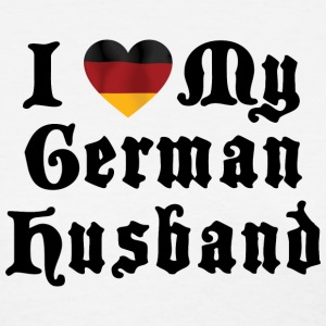 I Love My German Husband T-Shirt - Women's T-Shirt