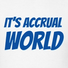 It's Accrual World T-Shirts