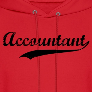 Accountant Swoosh Hoodies - Men's Hoodie